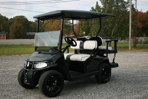 Low Profile Gloss Black EZ-GO RXV Golf Cart