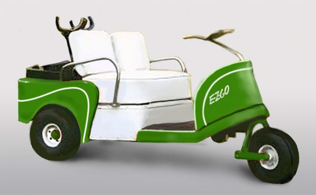 E-Z-GO Golf Car circa 1954