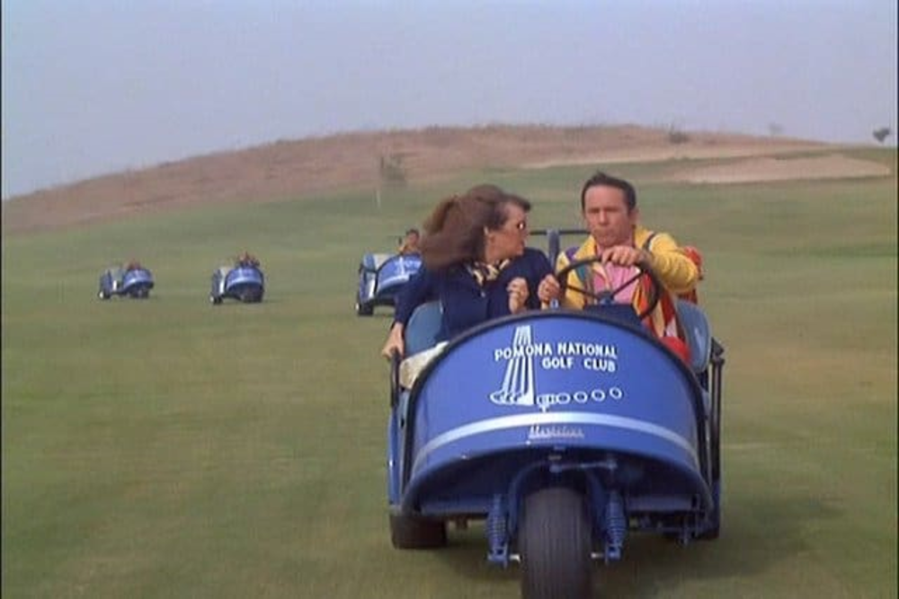 Marketeer Golf Cart Featured on Get Smart
