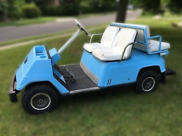 Yamaha G1 Golf Car circa 1978